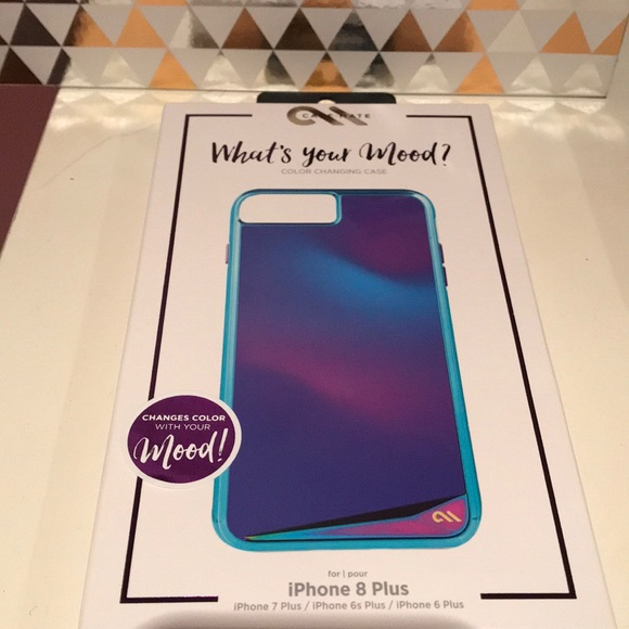 cheap for discount f4643 e491f NEW! What's Your Mood? Color Changing Phone Case NWT